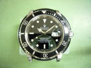 RolexサブマリーナデイトRef.16610オーバーホール後