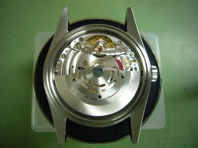 Rolex Explorer I 114270オーバーホール後