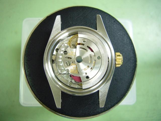 RolexDateJust 69163オーバーホール後