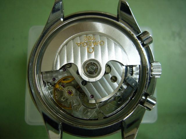 オメガスピードマスターデイト175.0083修理前