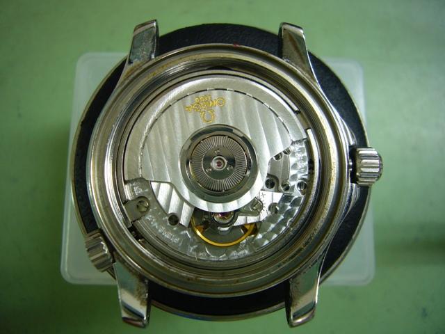 オメガシーマスターPRO300 168.1502修理前