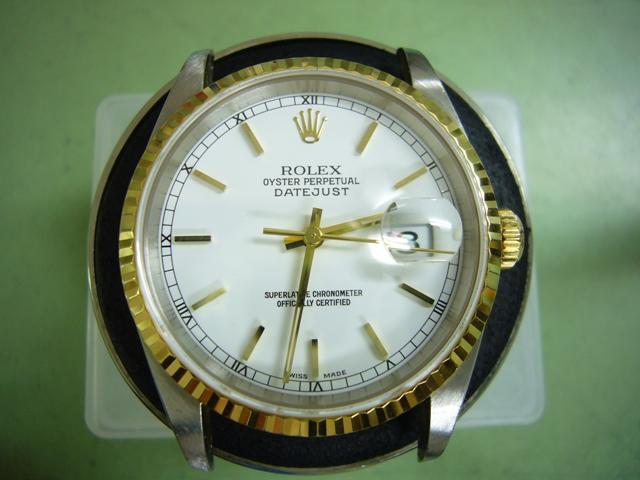 Rolex DateJust16233 オーバーホール前