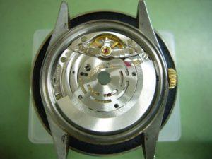 Rolex DateJust Cal.3135 オーバーホール前