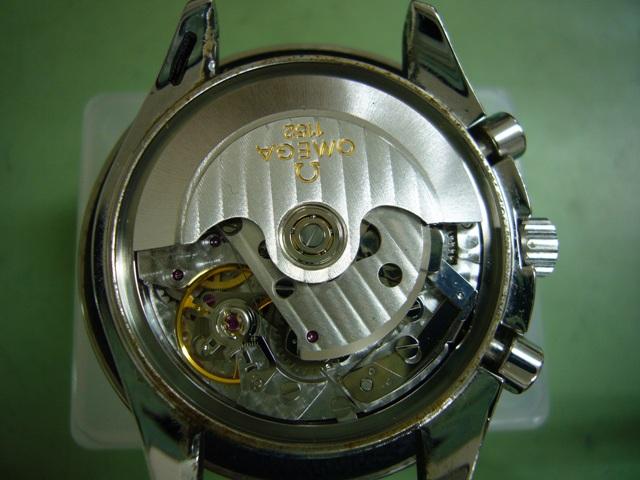 オメガスピードマスターデイト3515.20修理前