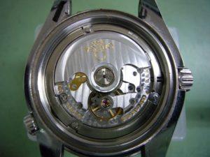オメガシーマスタープラネットオーシャン2500Cオーバーホール前