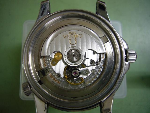オメガシーマスターPRO300 キャリバー1120修理前
