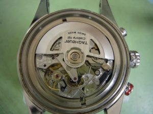 タグホイヤーカレラクロノグラフキャリバー16修理前