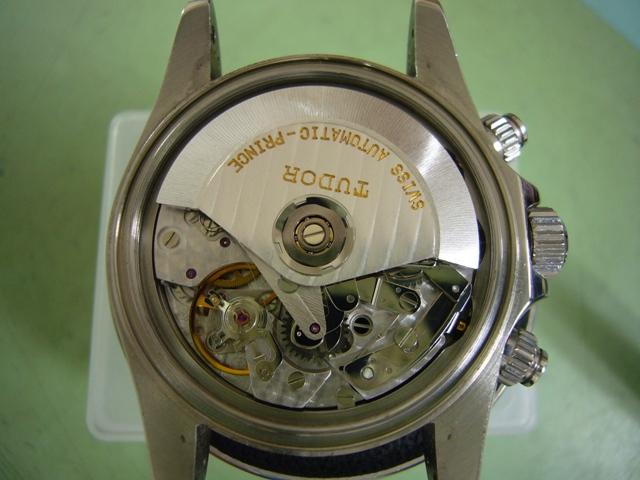 チュードルクロノタイムタイガーモデル79280修理前