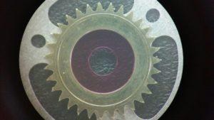 ロレックスデイトジャストCal.2135磨耗したカレンダーディスク