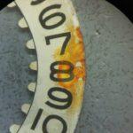 ロレックスCal.1560カレンダーディスク