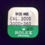 Rolex Cal.3000-360