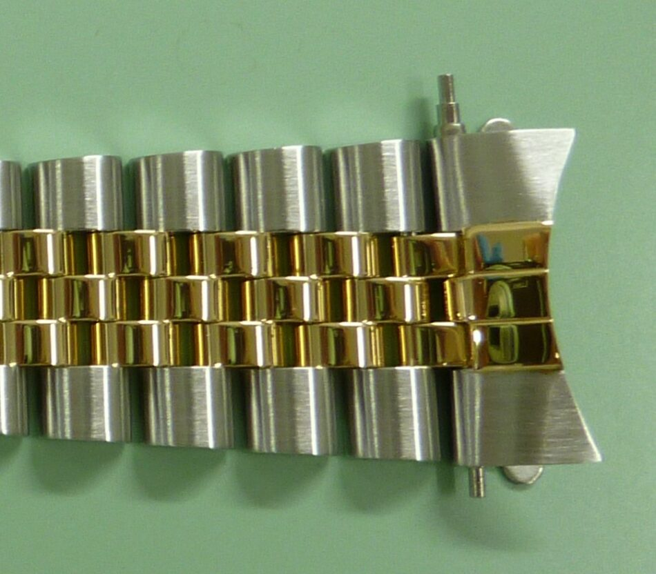 ロレックスジュビリーブレス62523H/455Bフラッシュフィット交換/仕上げ後