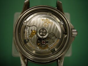 オメガシーマスターGMT/Cal.1128修理前