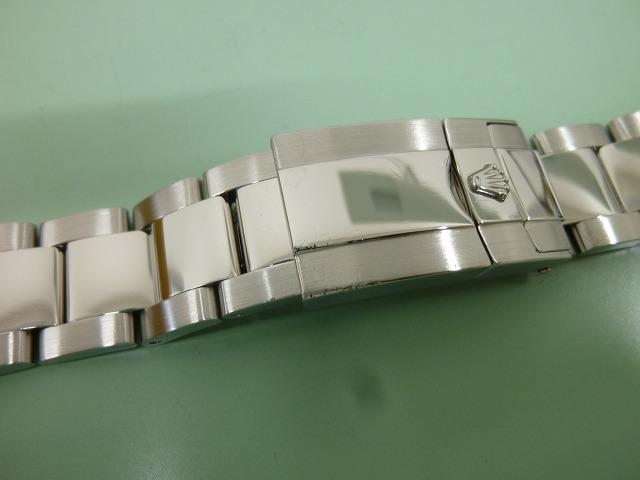 Rolex bracelet 78490 after polishing