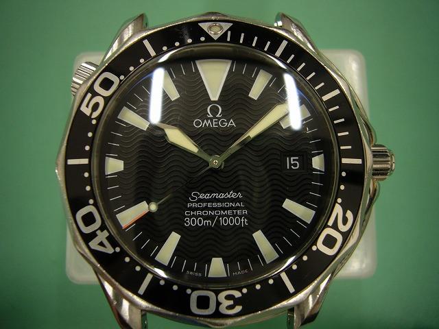 オメガシーマスタープロフェッショナル300 Ref.168.1640修理後